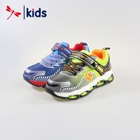 红蜻蜓童鞋男童小童弹簧缓震运动鞋跑步鞋