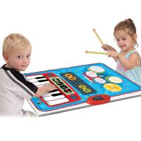 儿童宝宝爵士架子鼓电子琴钢琴毯早教音乐女孩男孩玩具初学者