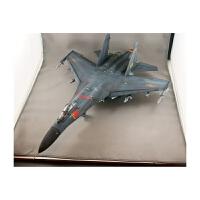 仿真1/48歼11战斗机苏27军事航模摆件儿童玩具小号手拼装飞机模型