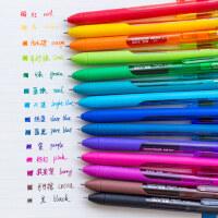 美国Paper Mate缤乐美彩色中性笔0.5mm学生考试按动水笔多色一套手帐签字笔韩国可爱小清新糖果色手账专用笔