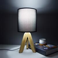 创意台灯暖光卧室北欧装饰简约现代时尚温馨桌床头灯