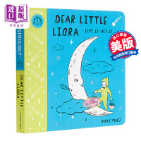 【中商原版】星座系列书 Dear Little Libra 亲爱的天秤座 低幼亲子星座科普绘本 纸板书 英文原版 3-6