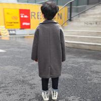 男童呢子大衣�和�毛呢外套秋冬�b加厚秋�n版洋�獬币�2018新款�A棉