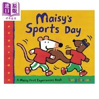 【中商原版】小鼠波波系列 Maisy's Sports Day 小鼠波波运动日 低幼早教认知启蒙绘本 平装 英文原版 3