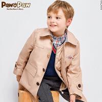 【3件3折 到手�r:299】 Pawinpaw��英��小熊童�b春款男童�L衣中�L款�A棉�杉�套休�e外衣