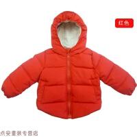 冬季儿童羽绒服男童超轻便加厚白鸭绒冬装0―1-2-3岁女童秋冬新款