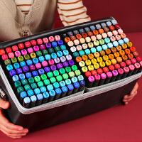 马克笔套装touch正品美术学生专用1000色全套36色48色彩色双头手绘水彩笔24色60/80色绘画笔小学生初学者动