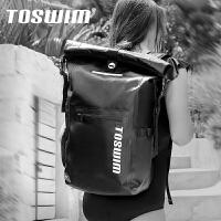 TOSWIM游泳包防水包干湿分离男女大容量旅行沙滩背包运动健身装备