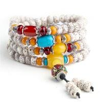 海南星月菩提子108颗高密干磨佛珠正月男女项链手串手链