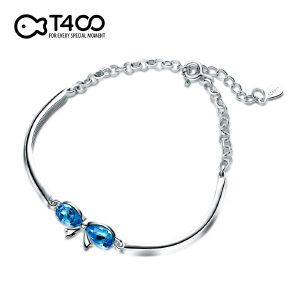 T400蓝钻精美时尚百搭手链 3899