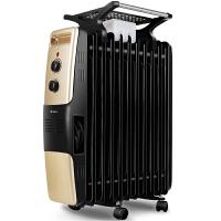 格力电暖器NDY07-26取暖器电暖气13片电热油汀配加湿盒晾衣架联保