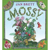 乌龟摩西(纽约时报畅销书,精装) Mossy(by Jan Brett)