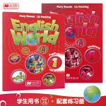 原版进口 麦克米伦 少儿英语培训教材 English World 1级学生书+练习册