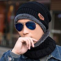 帽子男士冬季毛线帽百搭潮针织套头帽保暖冬天帽青年