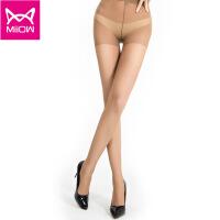 猫人miiow 丝袜女超薄15D不加档防勾丝丝袜连裤袜单双装