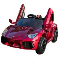 婴儿童电动车四轮可坐遥控汽车1-3岁4-5摇摆童车宝宝玩具车可坐人 顶配黄双驱大电瓶+全功能+摇 摆+遥控
