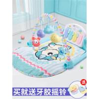 婴儿脚踏钢琴健身架器新生幼儿宝宝女0-1岁6-3个月12男孩益智玩具