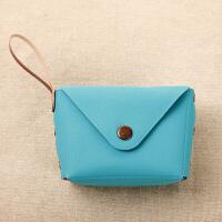 零钱包可爱糖果色小零钱包硬币包钥匙包 创意马卡龙手拿小包可印制企业logo