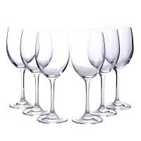 欧式红酒杯玻璃高脚杯套装家用酒具杯子葡萄酒白酒杯大号