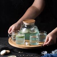 透明花茶壶家用花草茶具套装