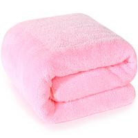 三利 高梳纱柔软舒适超大加厚浴巾 80×180cm 男女同款 不易掉毛强吸水裹身巾