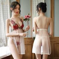 情趣内衣性感骚透明睡衣挑逗衣服诱惑小胸激情套装超骚文胸丝袜女
