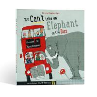 【全店300减110】进口英文原版你不能把大象带上公共汽车You Can't Take An Elephant On t