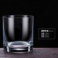 无铅水晶威士忌杯洋酒杯烈酒杯子玻璃水杯啤酒杯
