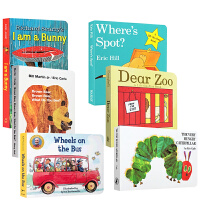 英文原版绘本Dear Zoo I am a bunny brwon bear the very Hungry Cate