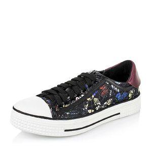 Teenmix/天美意专柜同款布女单鞋6P620CM6
