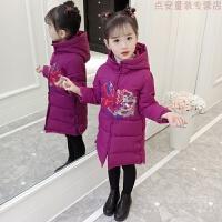 童装中国风女童加厚棉衣套装复古儿童唐装女孩新年装洋气拜年服潮