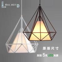 鸟笼吊灯创意复古铁艺吊灯灯具