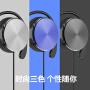 耳挂式运动有线耳机线控带调音头戴耳麦手机电脑通用