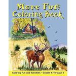 【预订】More Fun Coloring Book