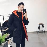 冬装2017新款 两面穿棉衣 轻熟男时尚棉袄 修身男士外套