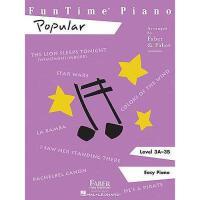 【预订】Funtime Piano, Popular: Level 3A-3B