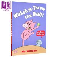 【中商原版】小猪小象系列:看我投球 Elephant