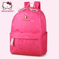 HelloKitty凯蒂猫 KT1137玫红 儿童书包 女童韩版甜美 1-3年级减负护脊书包