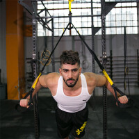 悬挂式训练带拉力绳健身器材家用男全阻力训练带健身带