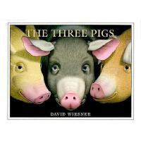 The Three Pigs 英文原版《三只小猪》(凯迪克金奖绘本,精装)