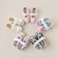 [2件3折价:59.1]戴维贝拉春季新款帆布鞋女宝宝休闲帆布鞋5色DB7126