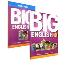 培生英文原版进口 朗文少儿美语旗舰课程 Big English 第三册学生包含练习册等 小学英语 CLIL学习法 全球EFL大师 Mario主编