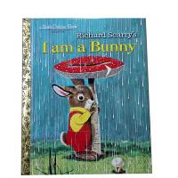英文原版绘本 I Am A Bunny 我是一只兔子大自然之美儿童入门 低幼启蒙儿童阅读学习英语亲子互动故事图画书精装