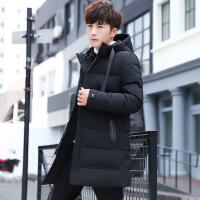 棉衣男冬季2018新款男韩版潮流宽松中长款加厚棉袄子冬装外套