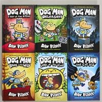 Dog Man 6册 英文原版 精装盒装 神探狗狗 狗狗侦探1-6 内裤超人Captain Underpants同作者
