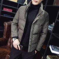 立领棉衣男短款外套冬季韩版潮流修身男冬装休闲加厚保暖棉袄