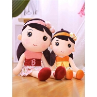 花仙子布娃娃菲儿小女孩公主玩偶睡觉抱生日礼物女生韩国儿童公仔