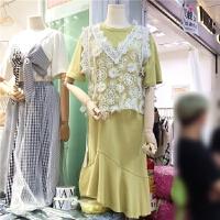 2018早出新品学院风减龄连衣裙两件套(背心+裙子)X