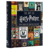 【中商原版】哈利波特艺术画册设定集:平面艺术设计迷你书 英文原版 Art of Harry Potter: Mini Book of Graphic Design 精装