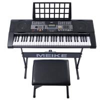 美科智能电子琴61键多功能教学儿童学生成人初学者入门亮灯跟弹学习琴